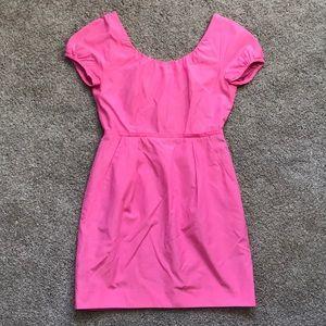 J Crew Bright Pink Dress